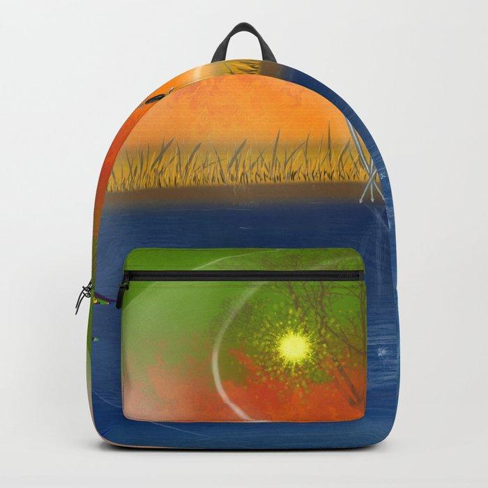 Feng Shui five elements Backpack