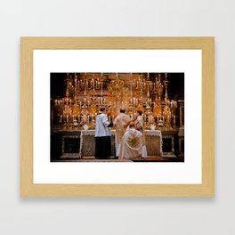 Smells and Bells Framed Art Print