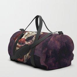 Scary Clown Purple Smoke Duffle Bag