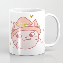 Spring Kitty Coffee Mug