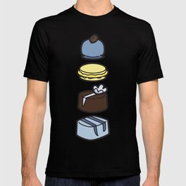 Tea For Two in Blue T-shirt