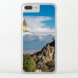 Outros mundos Clear iPhone Case