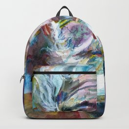 ERNEST HEMINGWAY - watercolor portrait.7 Backpack