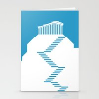greece Stationery Cards featuring GREECE by Marcus Wild