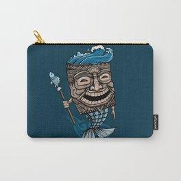 Tiki Merman Carry-All Pouch
