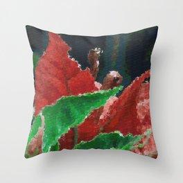 Bougainvillea Closeup Throw Pillow