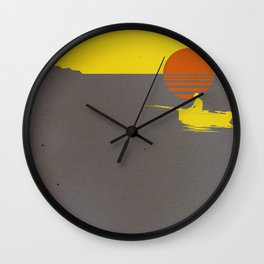 It Will All Work Out Wall Clock