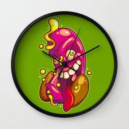 Crazy Frank Wall Clock