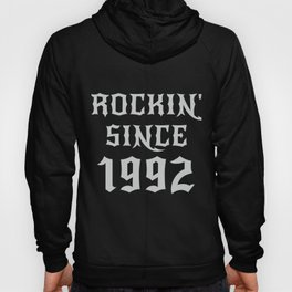 28 Year Old Classic Rock 1992 28th Birthday Gifts Men Women Hoody