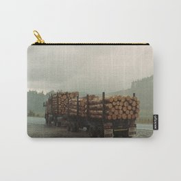 Loggers in the Rain Carry-All Pouch