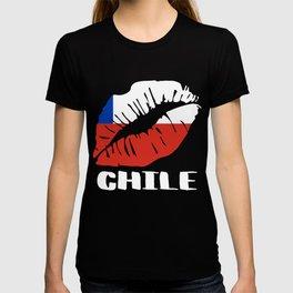 CHL Chile Kiss Lips Shirt T-shirt