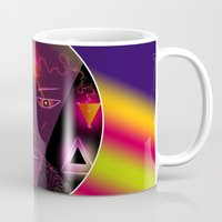 wizard Mugs featuring Wizard by Spooky Dooky