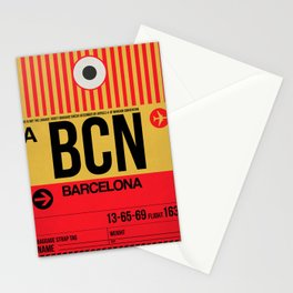 BCN Barcelona Luggage Tag 1 Stationery Cards