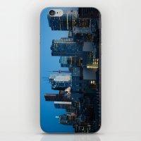 toronto iPhone & iPod Skins featuring Toronto by Michael Linnik