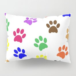 Paw print design Pillow Sham