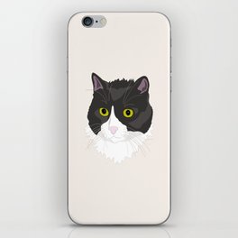 Casual Cat iPhone Skin