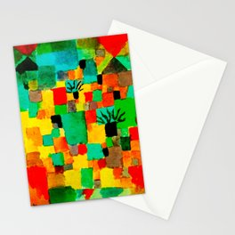 Southern Tunisian Gardens by Paul Klee Stationery Cards