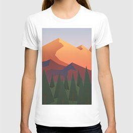 Sunset Mountain T-shirt