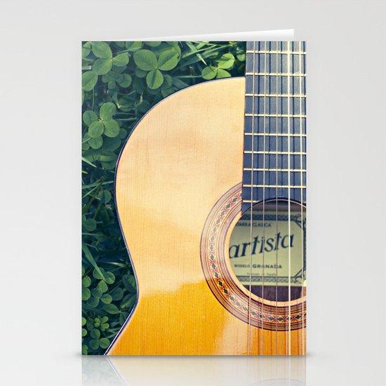 Artista Guitar Stationery Cards
