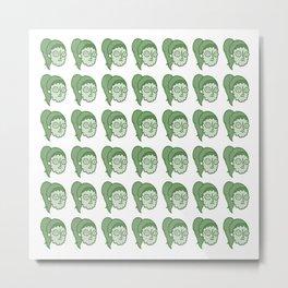 Les concombres.  Metal Print