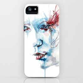 Indelible scars iPhone Case