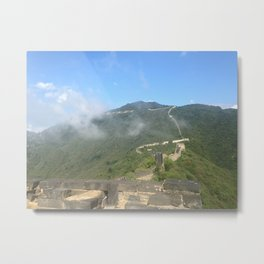 Great Wall Metal Print