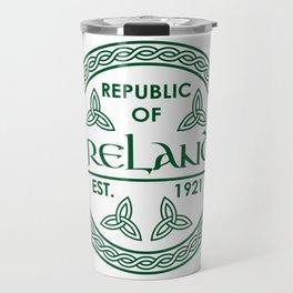 Republic of Ireland - EST. 1921 St.Patrick's Day Awesome Shirt Travel Mug