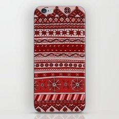 Yzor pattern 005 red iPhone & iPod Skin