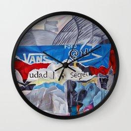 Previo de Ruinas Publicitarias III Wall Clock
