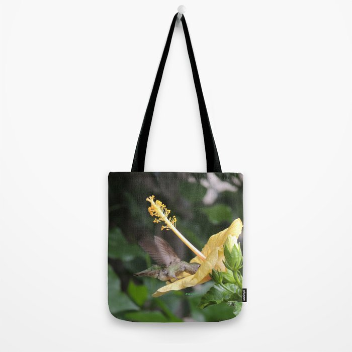 Hibiscus and Visitor Tote Bag