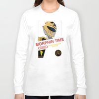 power rangers Long Sleeve T-shirts featuring NES Power Rangers by IF ONLY