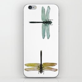 Mystical Dragonfly Graphic Pattern iPhone Skin