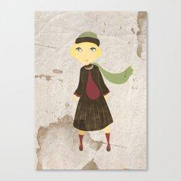 Little Heroin  Canvas Print