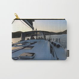 Beneteau Boat deck sunset Carry-All Pouch
