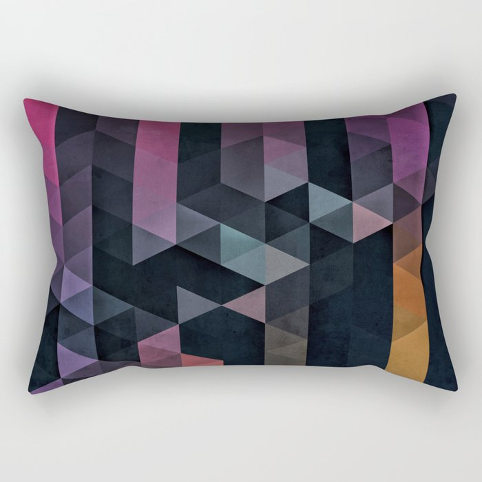 ypsyde dwwnsyde Rectangular Pillow