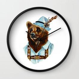 Bear-Varian  Wall Clock