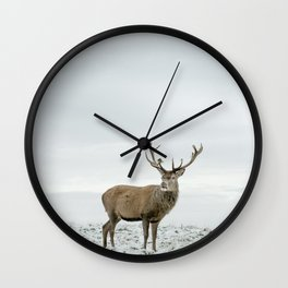 First Snow (03) Wall Clock