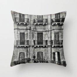 balconies... Throw Pillow