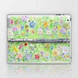 Voice of Silver Laptop & iPad Skin