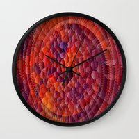 illusion Wall Clocks featuring Illusion... by Cherie DeBevoise
