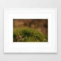 moss Framed Art Prints featuring Moss by A Wandering Soul