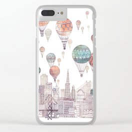 Voyages Over San Francisco ~ Refresh Clear iPhone Case