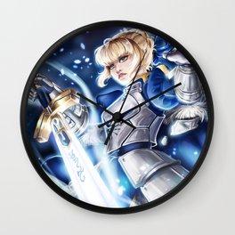 Saber Excaliber Wall Clock