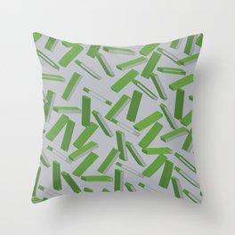 3D Pattern  X 0.3 Throw Pillow