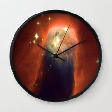 Space Volcano Wall Clock