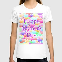 Mother's Day Hearts Light T-shirt