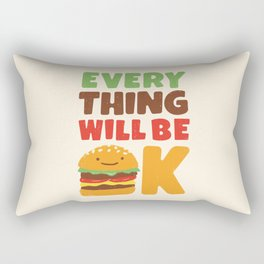 Feed Your Feelings Rectangular Pillow