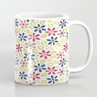 matisse Mugs featuring Matisse Floral by Rosie Simons