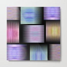 Pattern Elements Metal Print