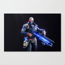 Soldier 76 v2 Canvas Print